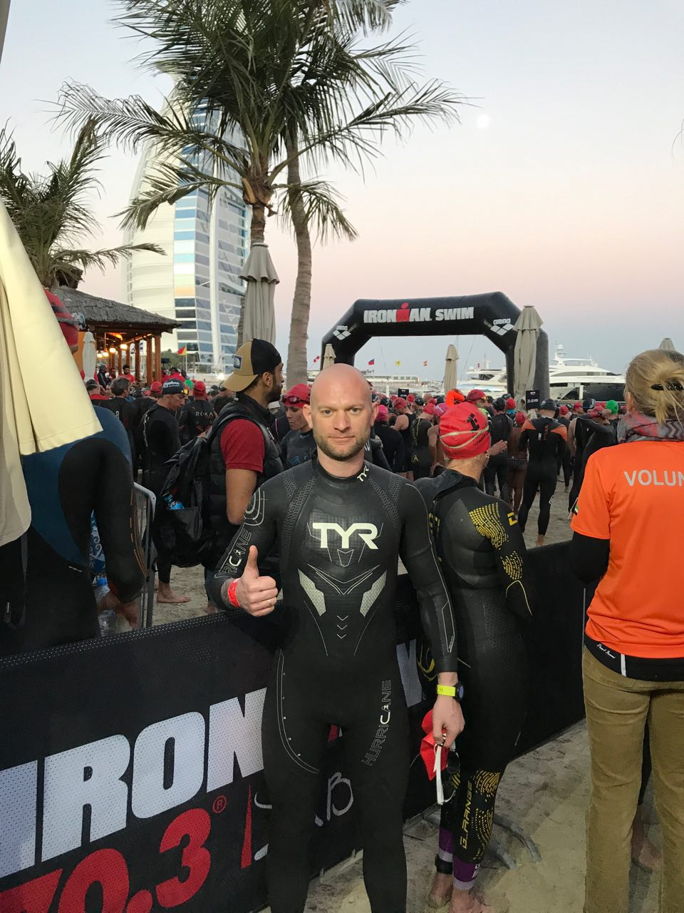 Перед началом Ironman 70.3 Dubai