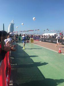 Беговой этап Ironman 70.3 Dubai