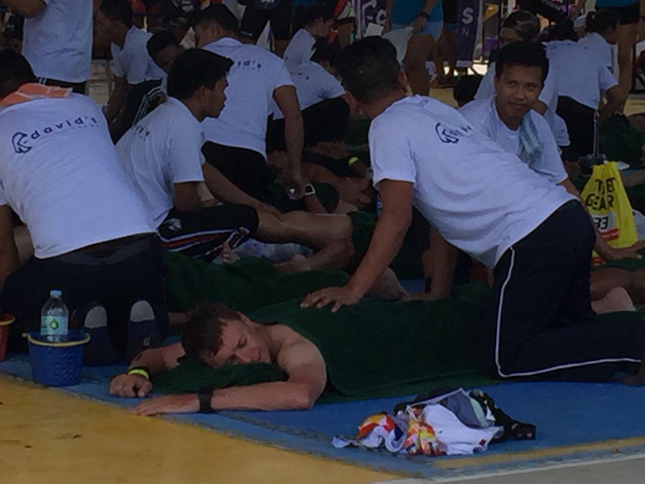 Реабилитация на Ironman 70.3 Philippines