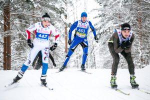 Фото с лыжного марафона