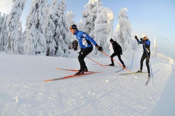 Лыжные тренировки в Вуокатти