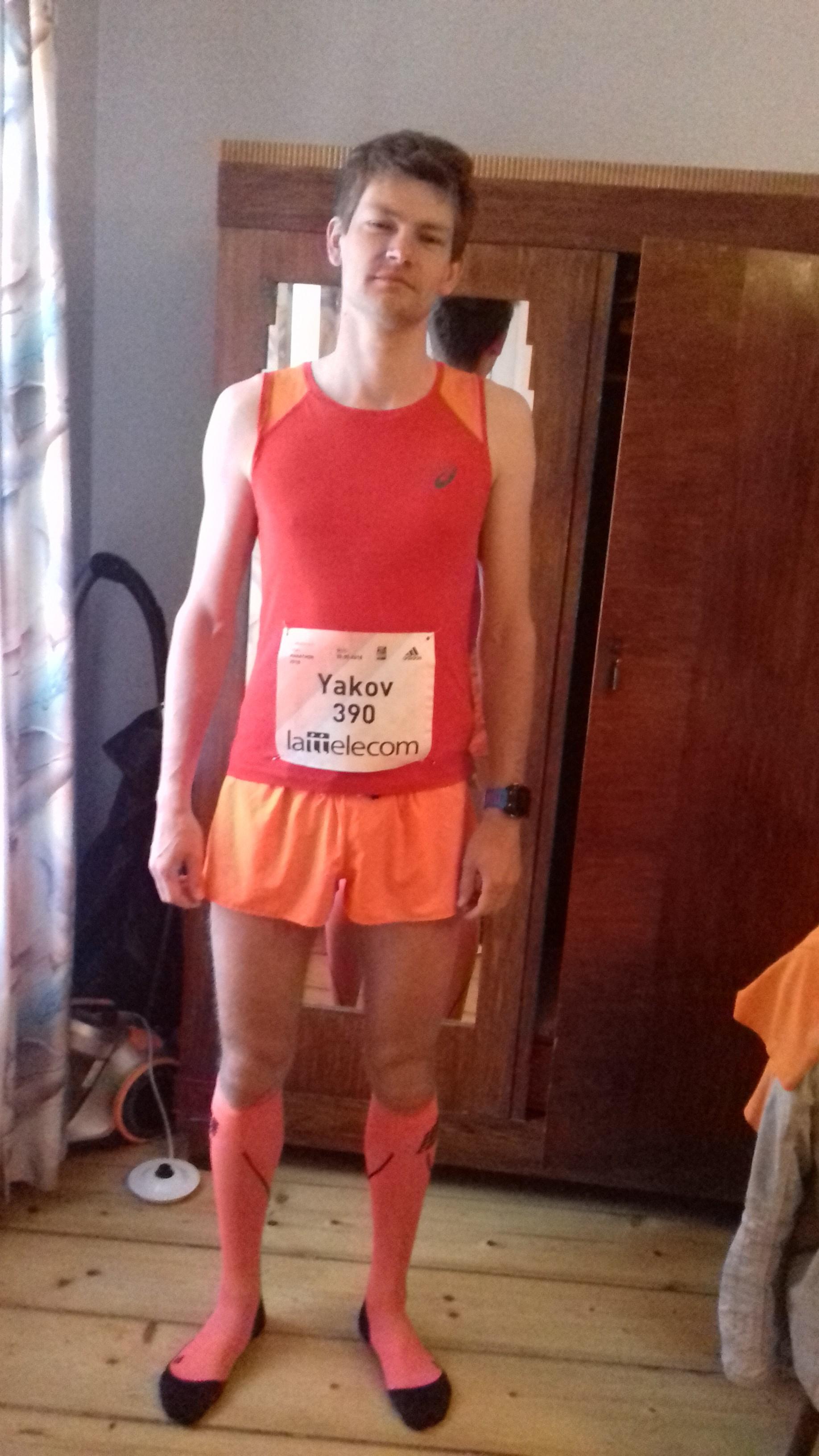 Всё готово к марафону в Риге