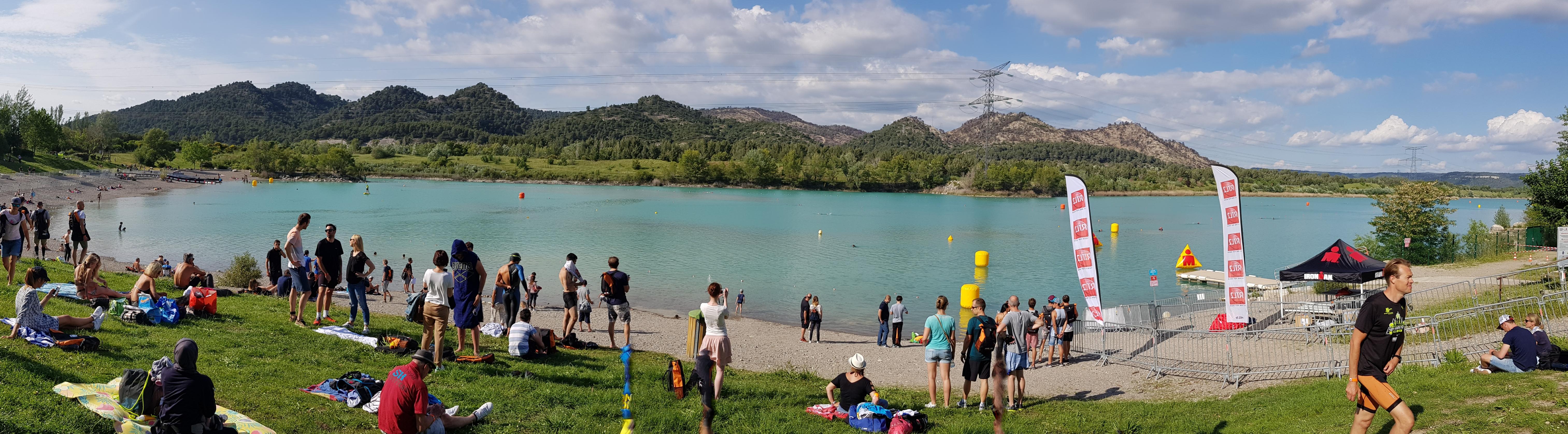 Панорама плавания в Aix Provence