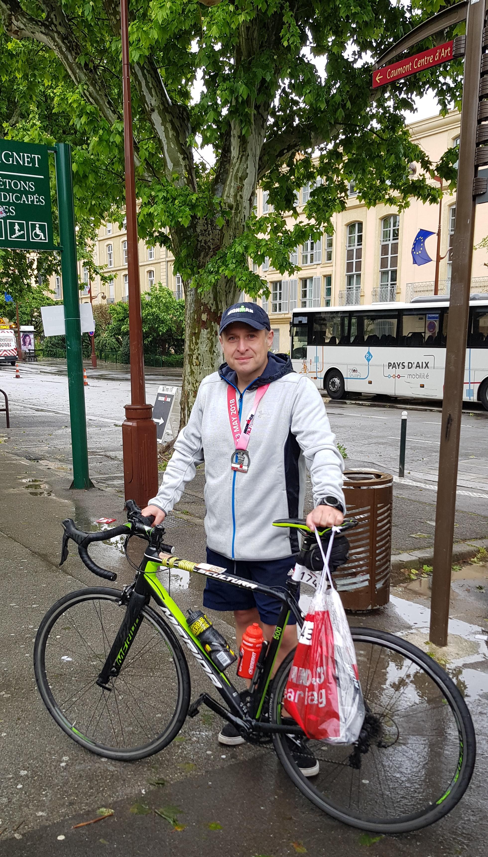 В отель после Ironman 70.3 Pays d'Aix