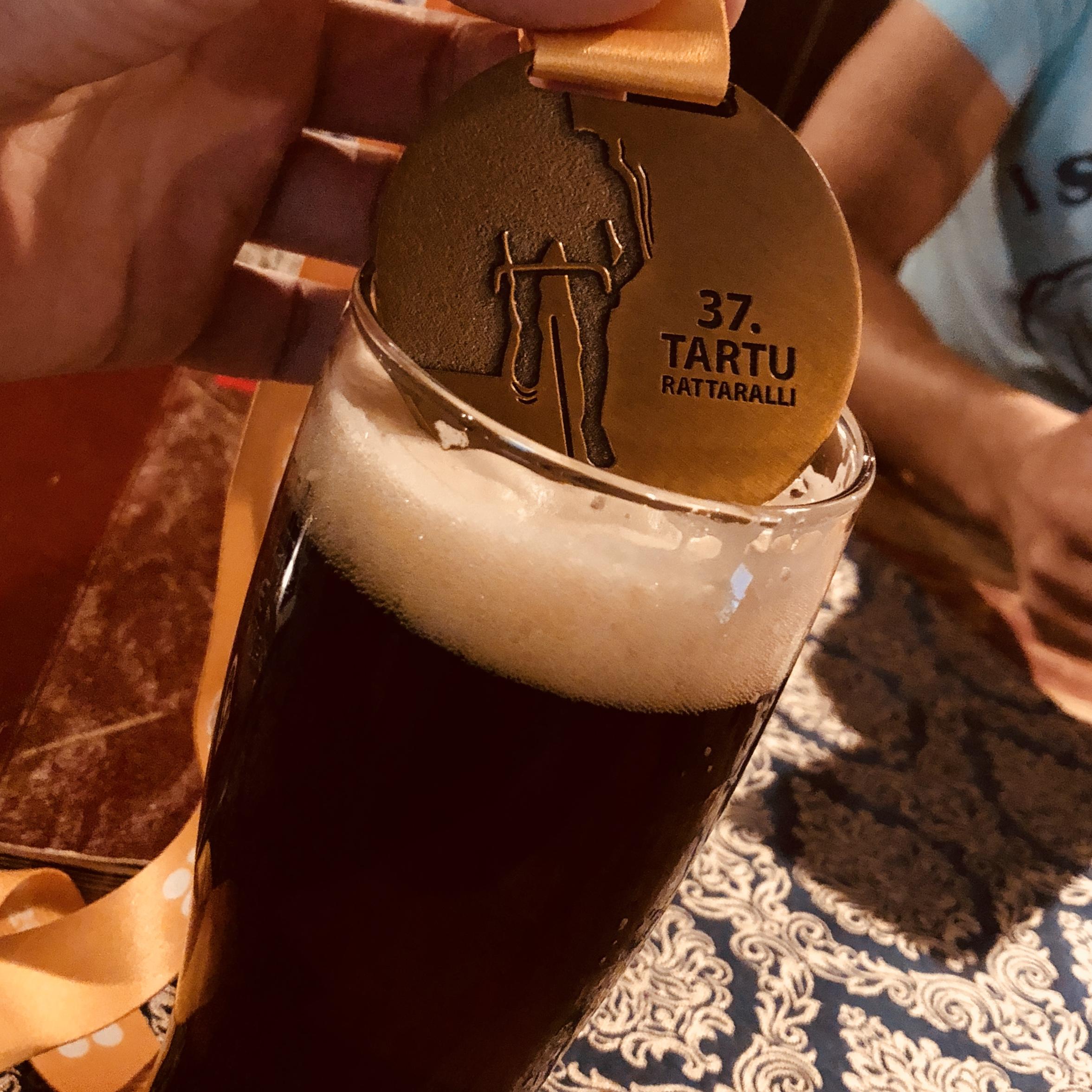 Празднование после Tartu Rattaralli