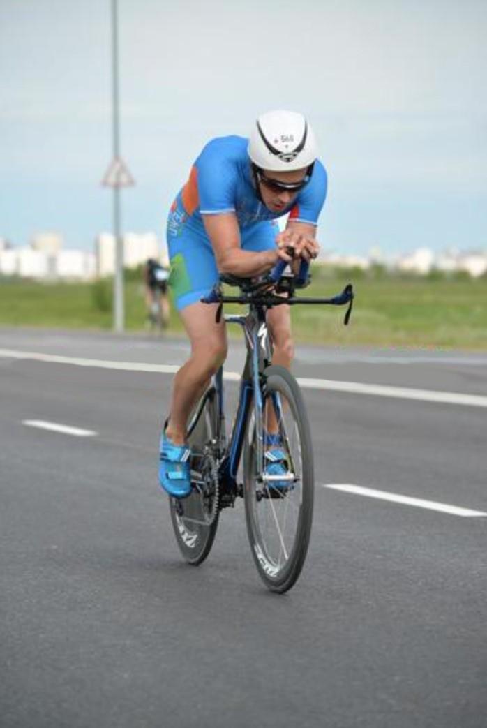 Велоэтап из аэропорта на Ironman 70.3 Astana