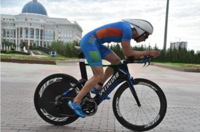 Виды на Ironman 70.3 Astana
