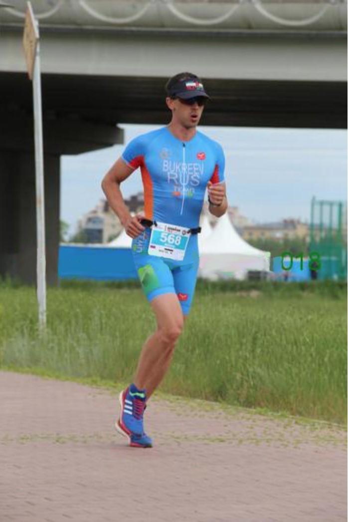 Бег по триатлон парку на Ironman 70.3 Astana