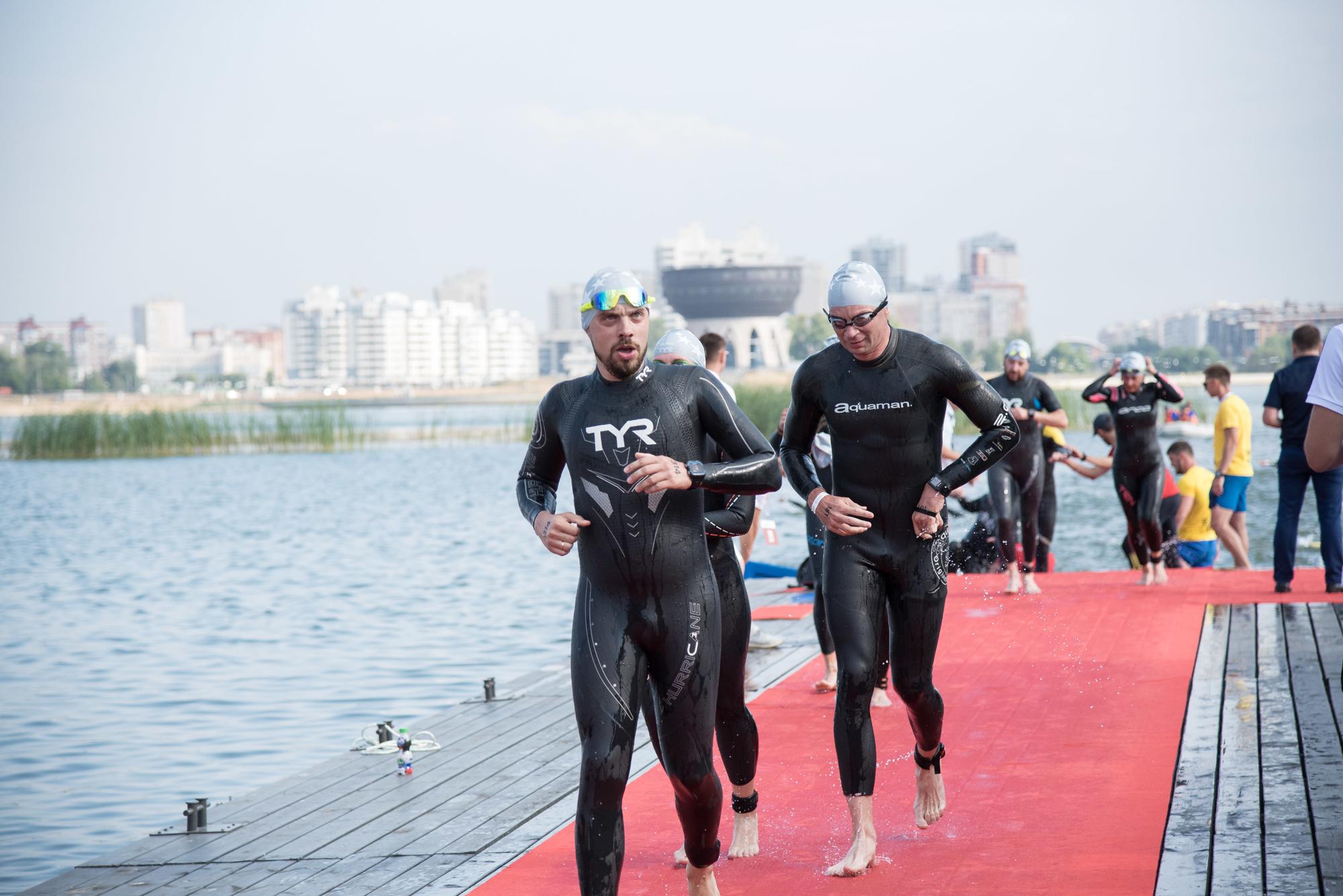 Плавательный этап на Ironstar 113 Kazan
