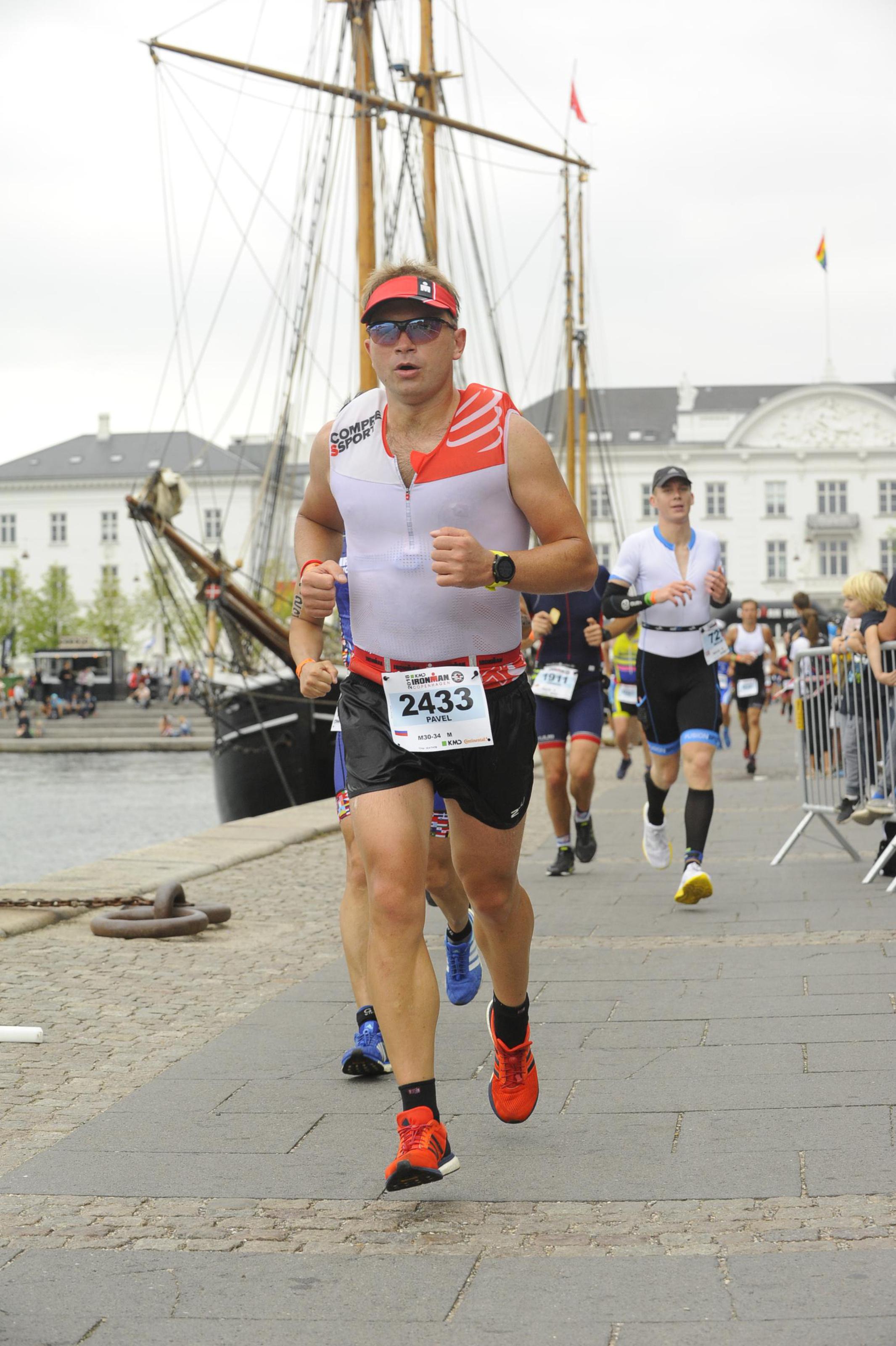 Бег на Ironman Copenhagen