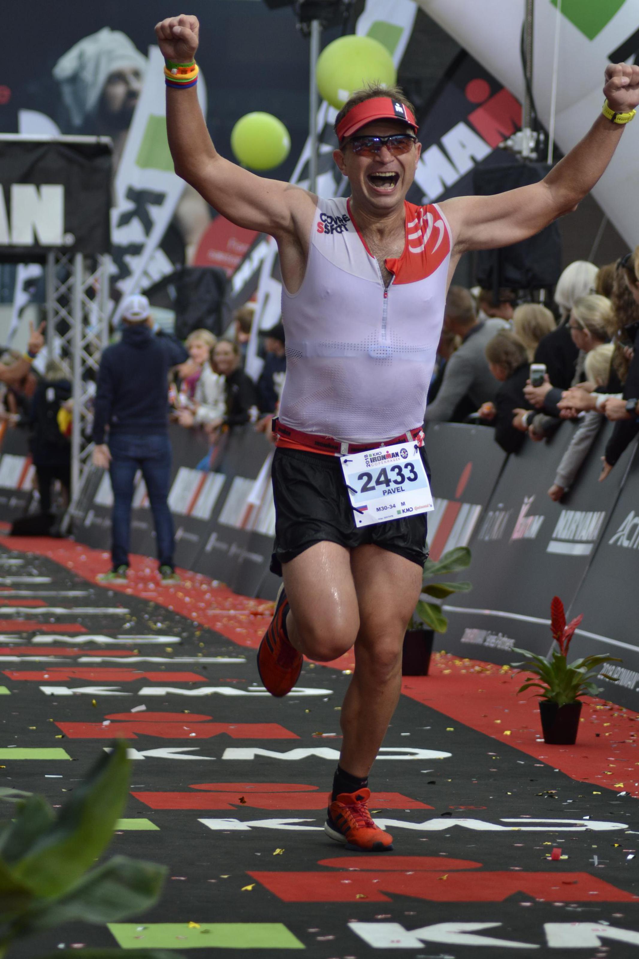 Финиш на Ironman Copenhagen
