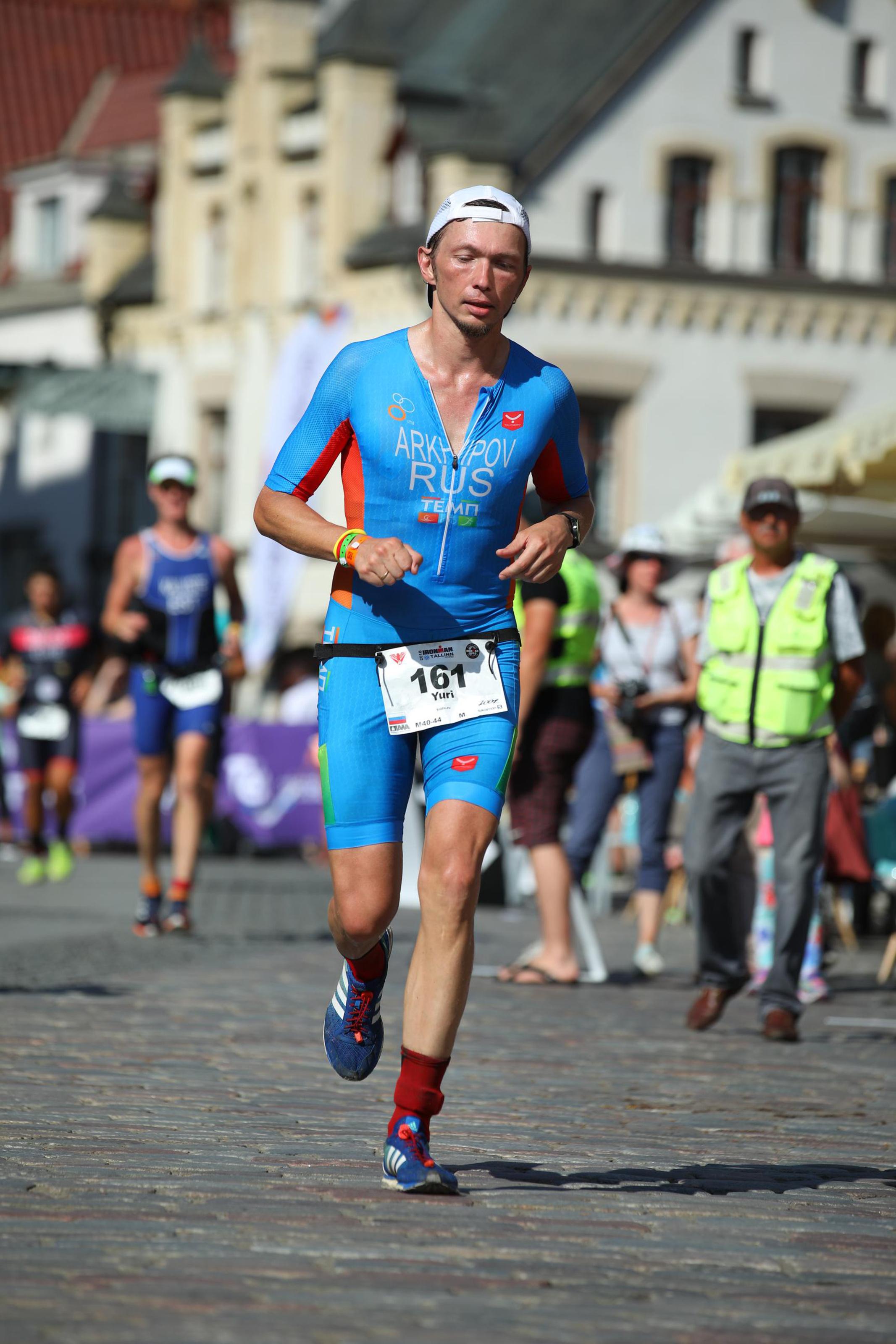 Бег на Ironman Tallin