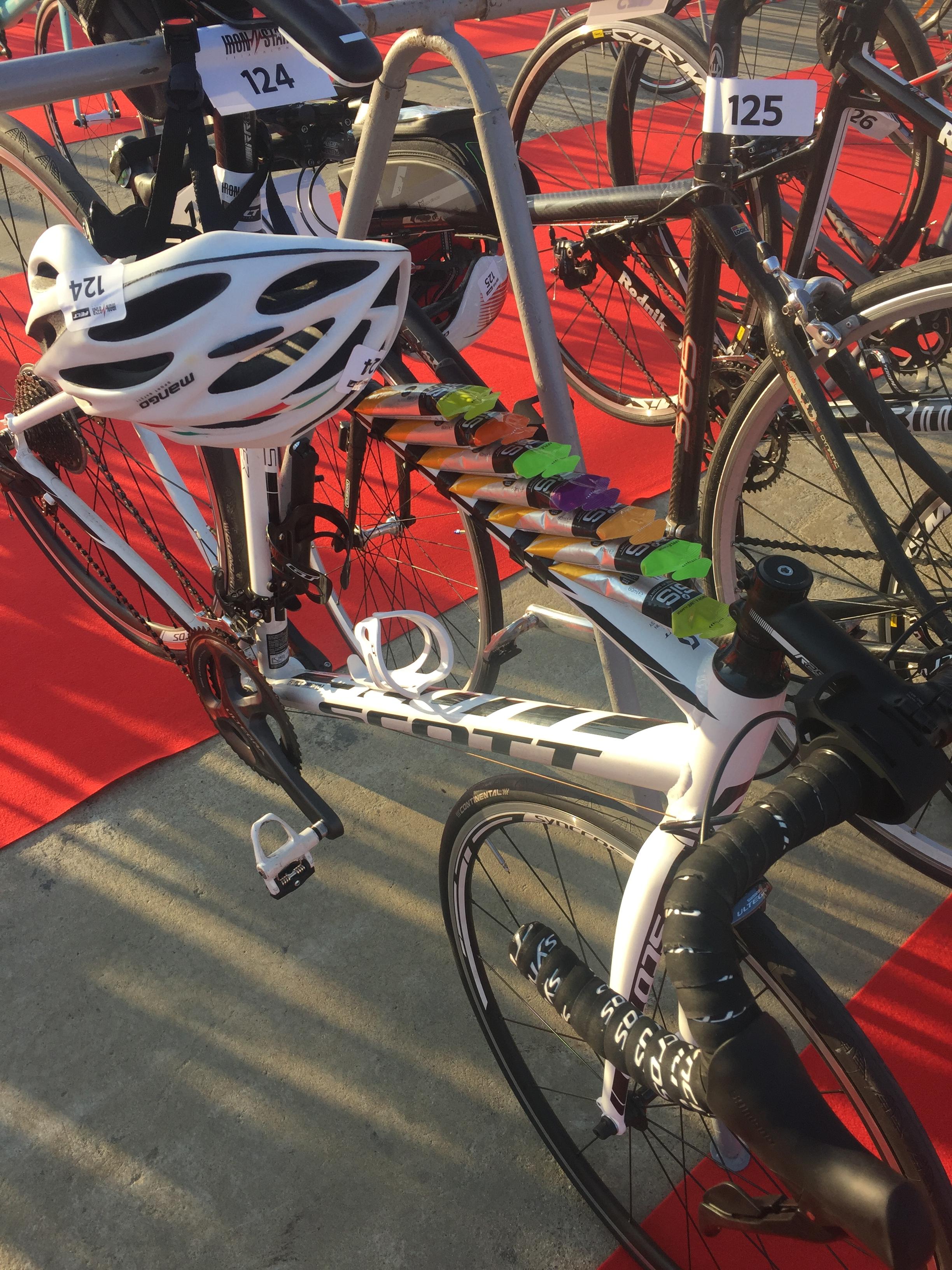 Велосипед в транзитной зоне Ironstar 113 Sochi