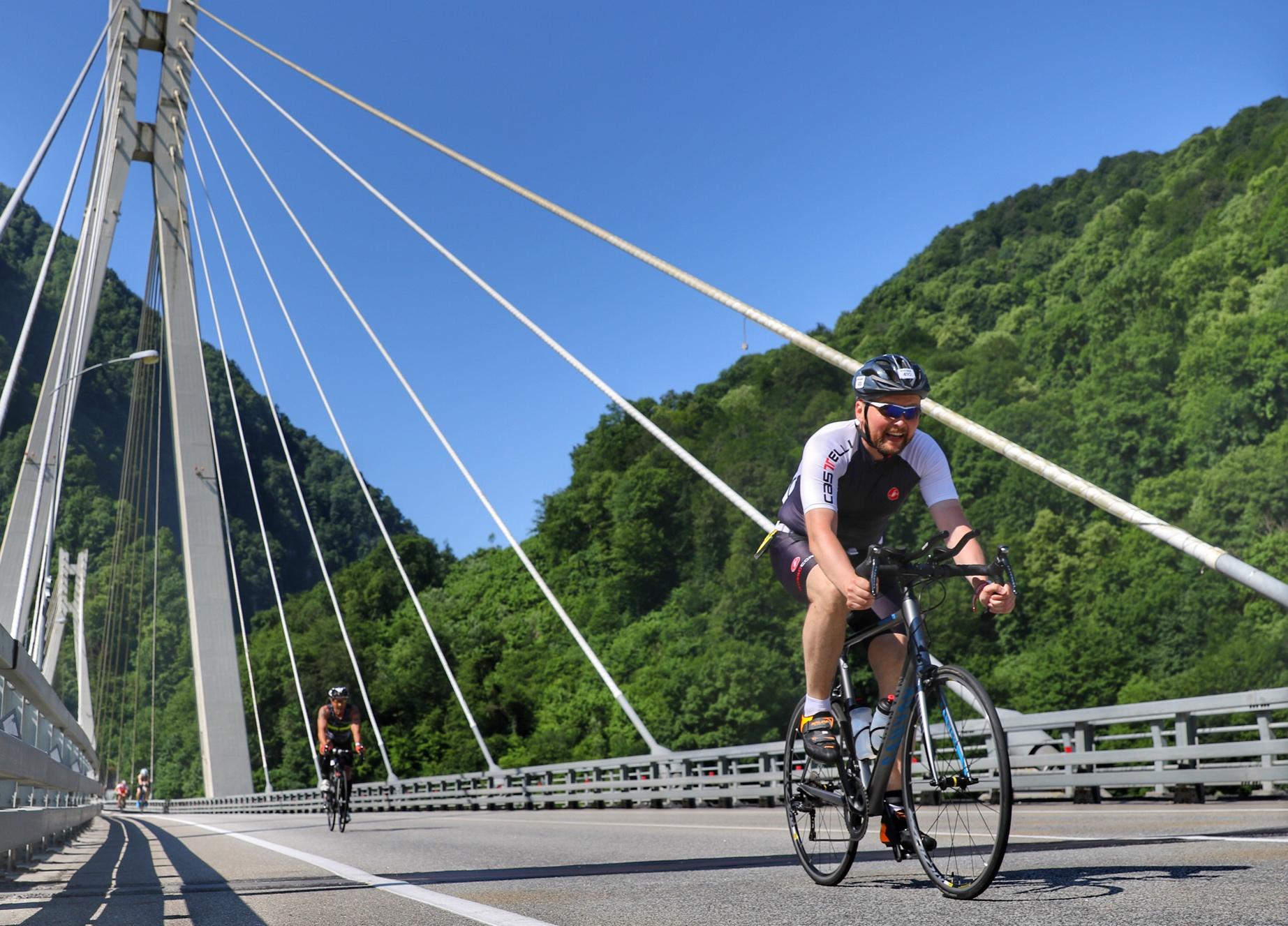 Велоэтап в Красную Поляну на Ironstar 113 Sochi