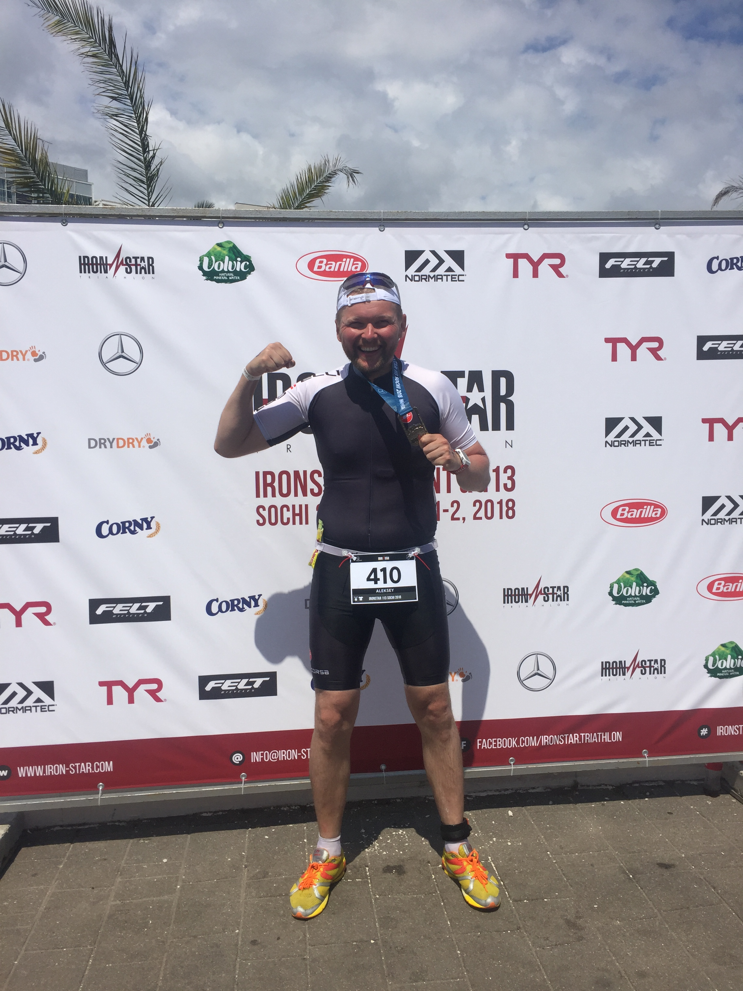 После финиша на Ironstar 133 Sochi