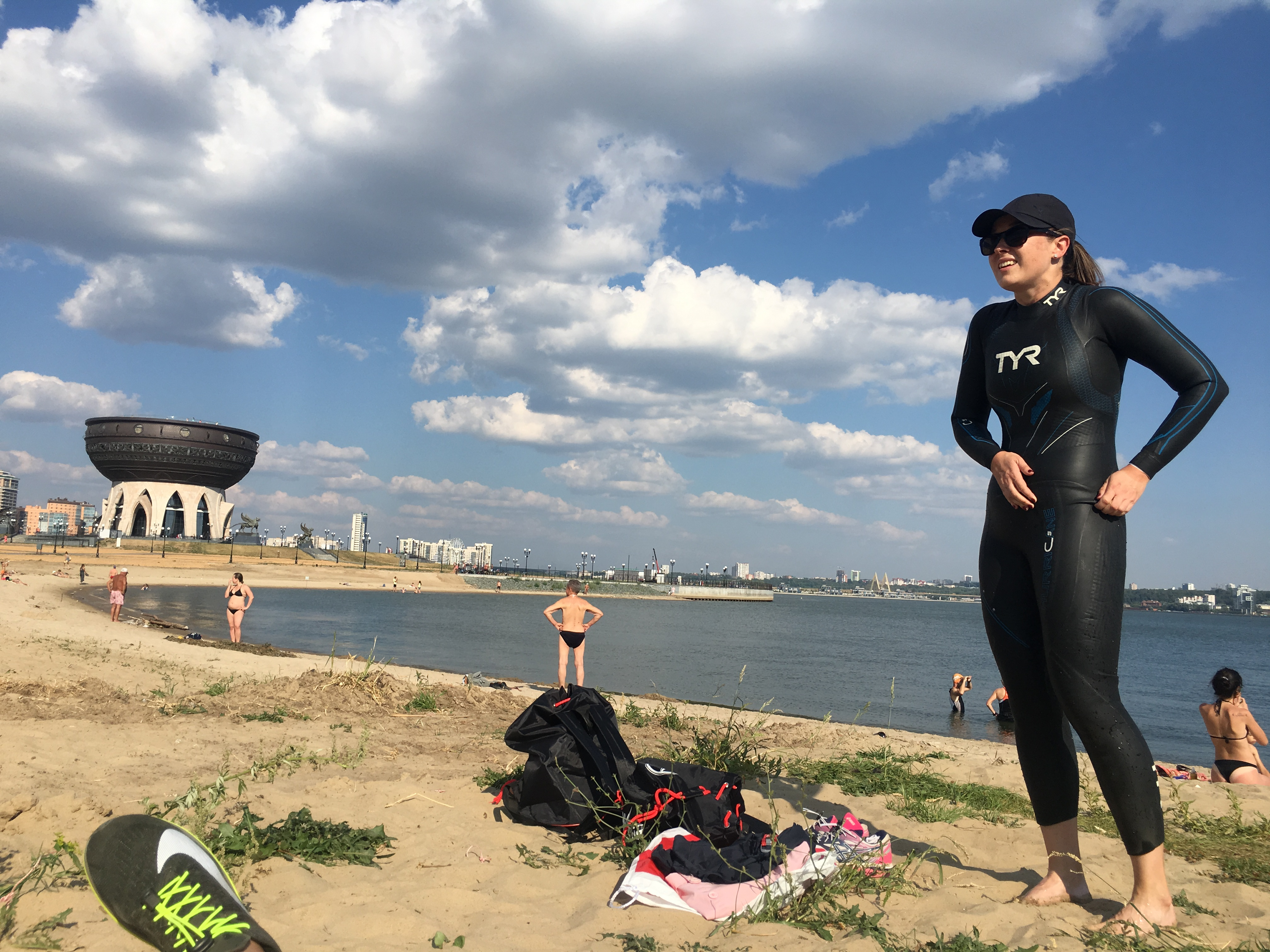 Пляж в Казани