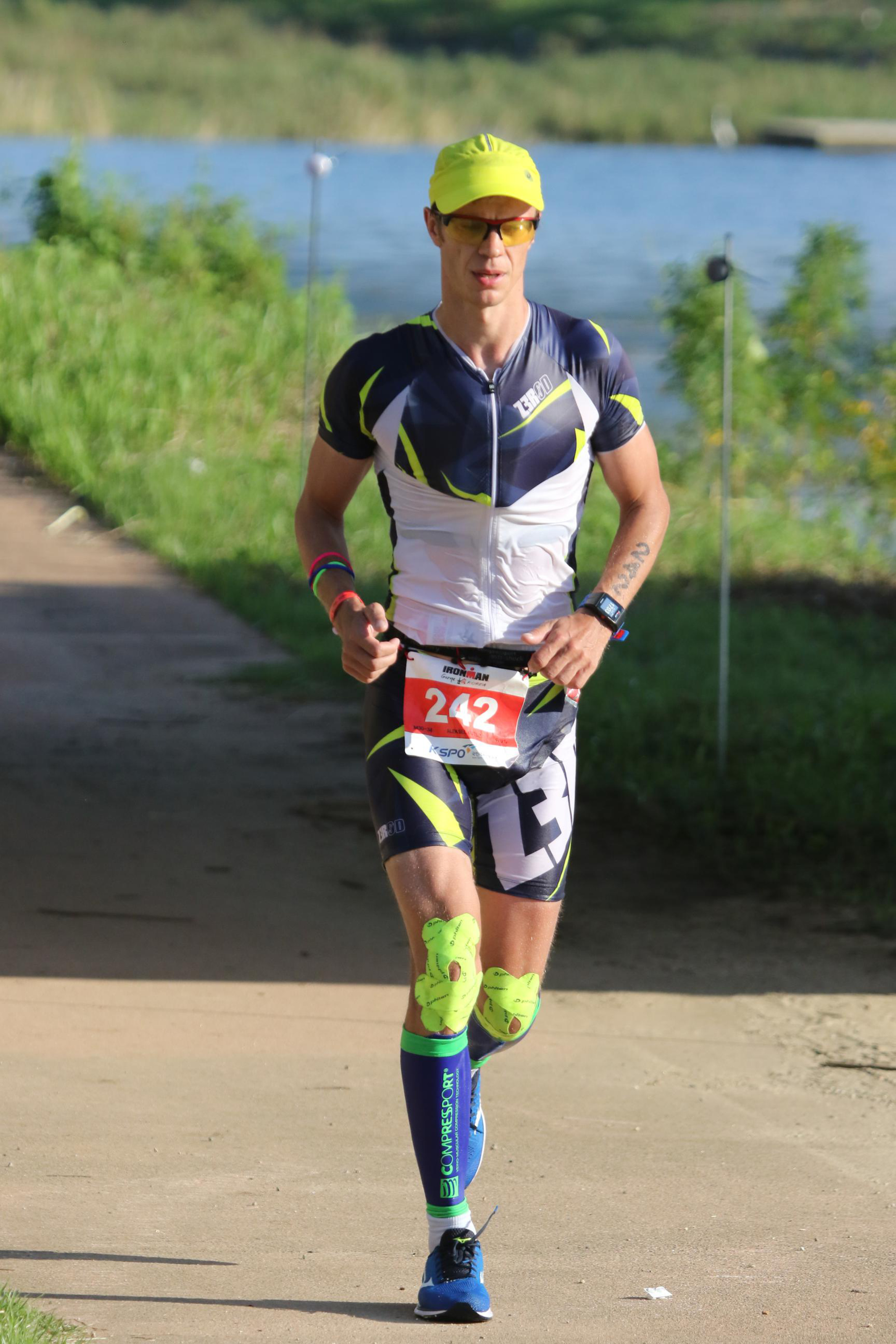Бег на Ironman Korea Gurye