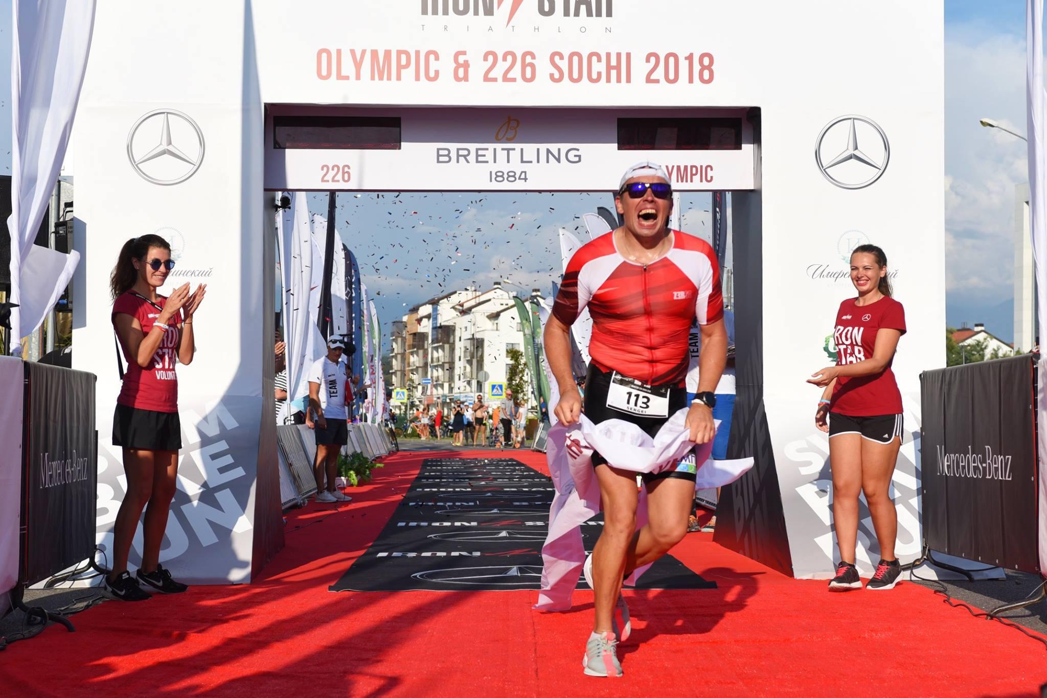 Победа Сергея Зеленова на Ironstar 226 Sochi