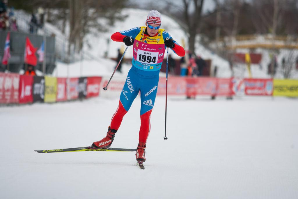 Тренер по лыжам Никита Хабаров в Дёмино