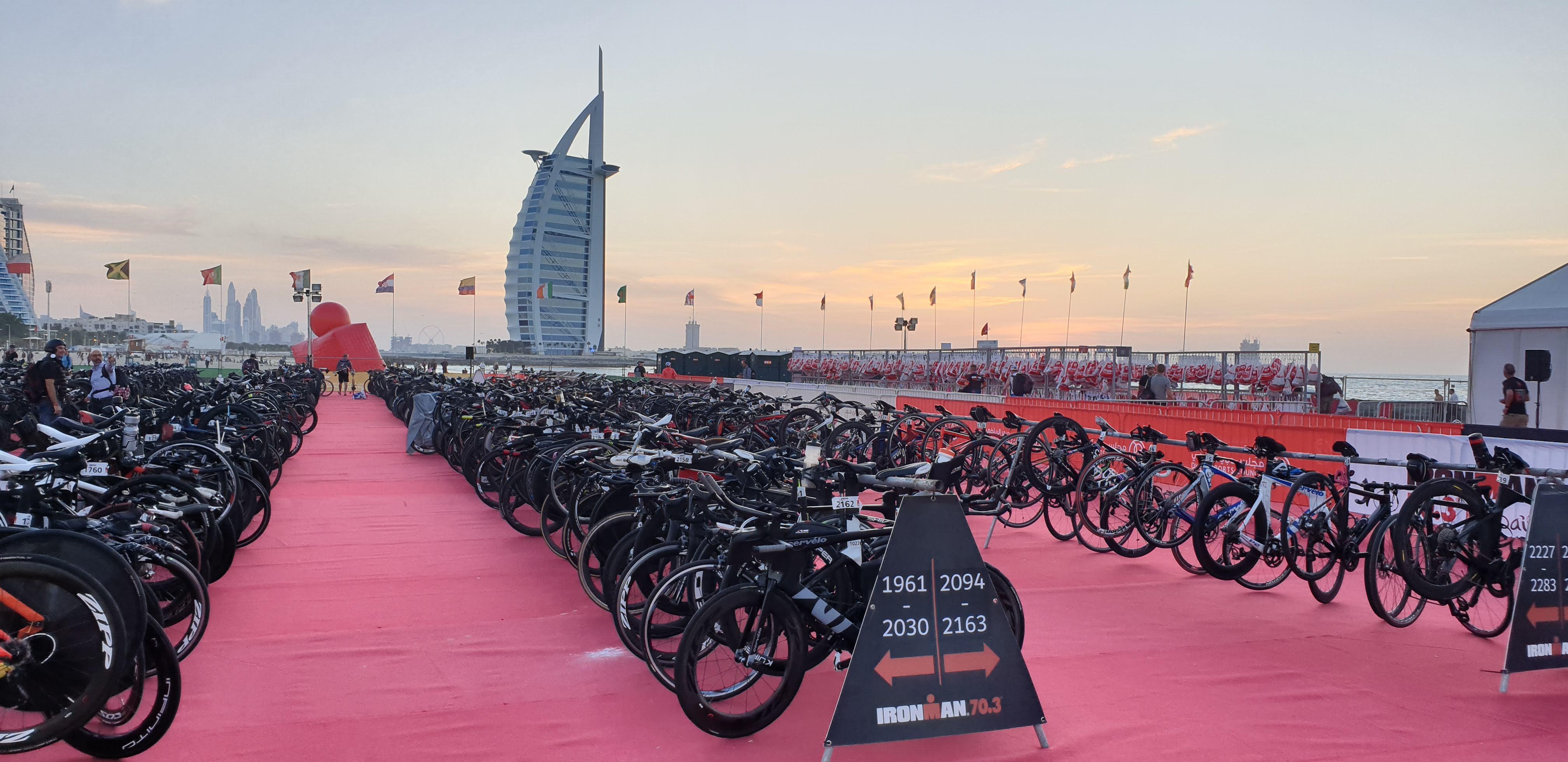 Транзитная зона Ironman Дубай