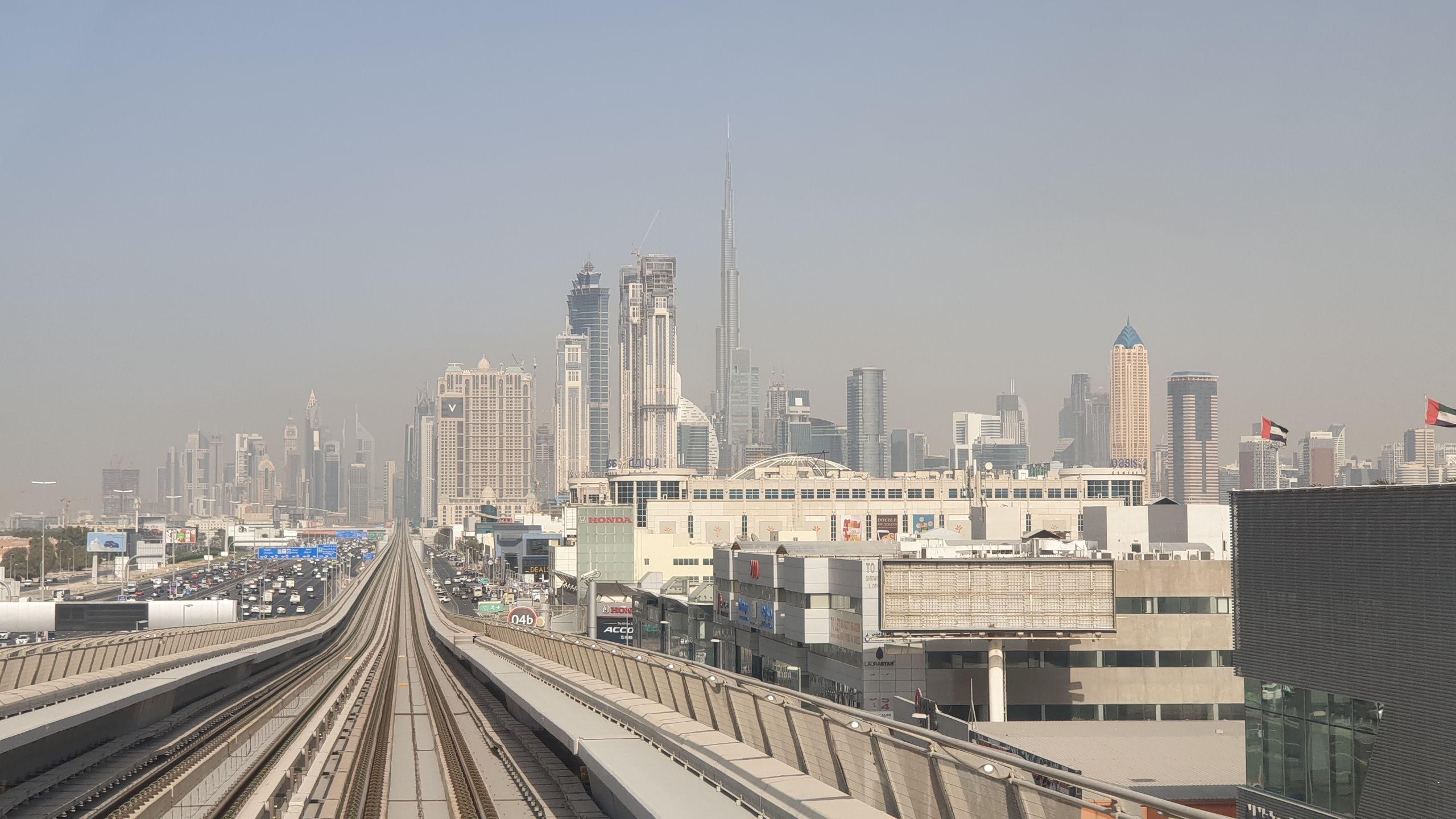 Приезд в Дубай