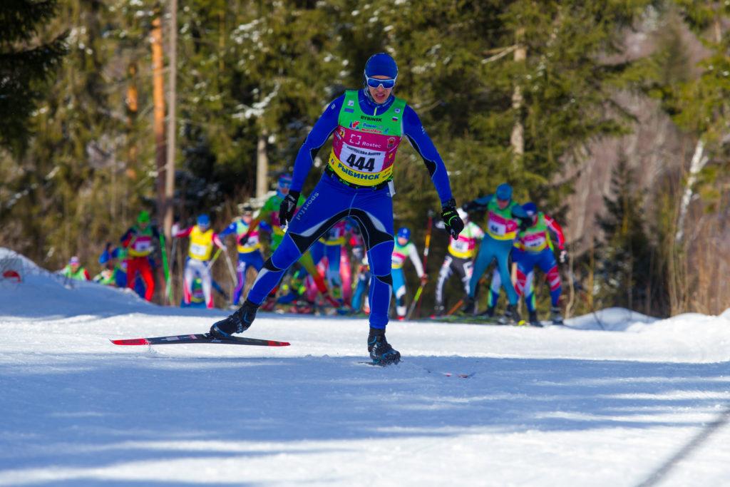 Отрыв в Дёмино на лыжах