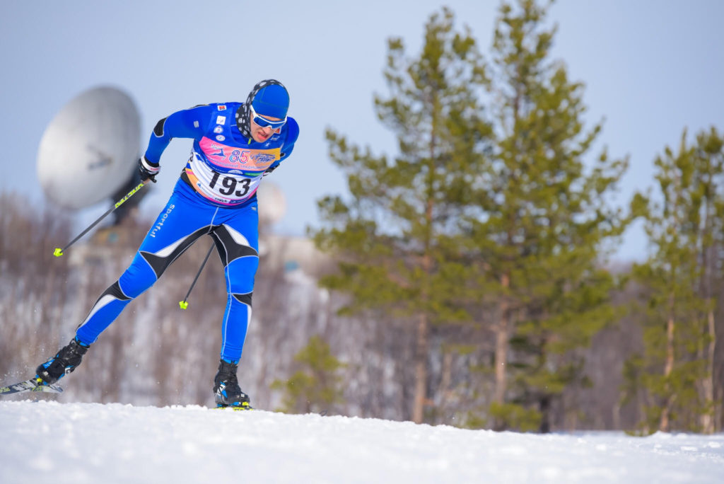 Лыжный марафон в Мурманске