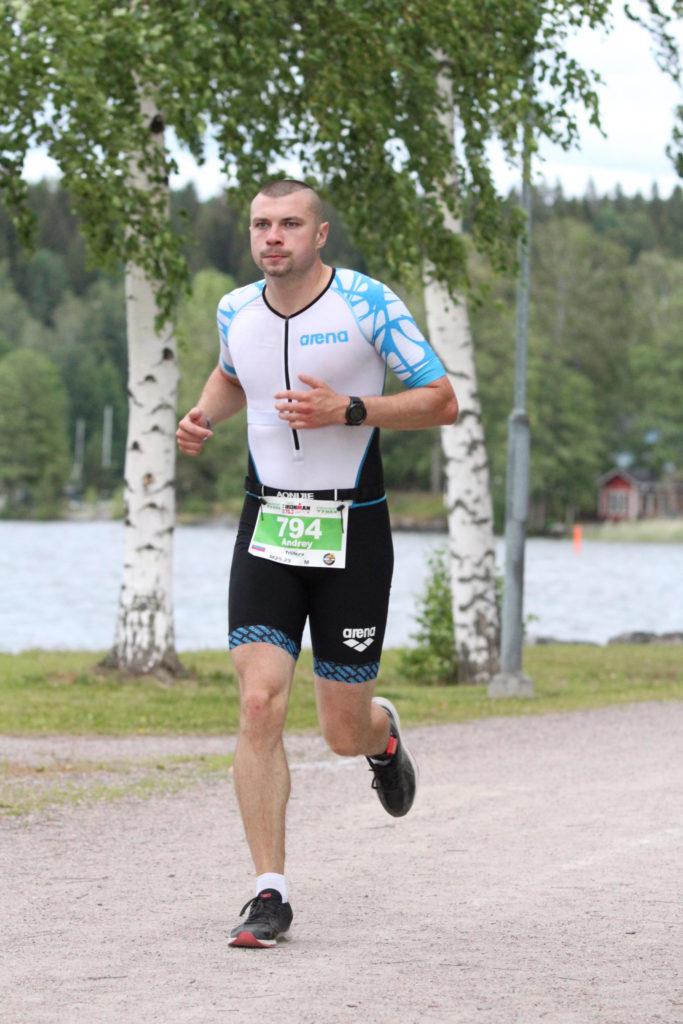 Беговой этап Ironman 70.3 Lahti