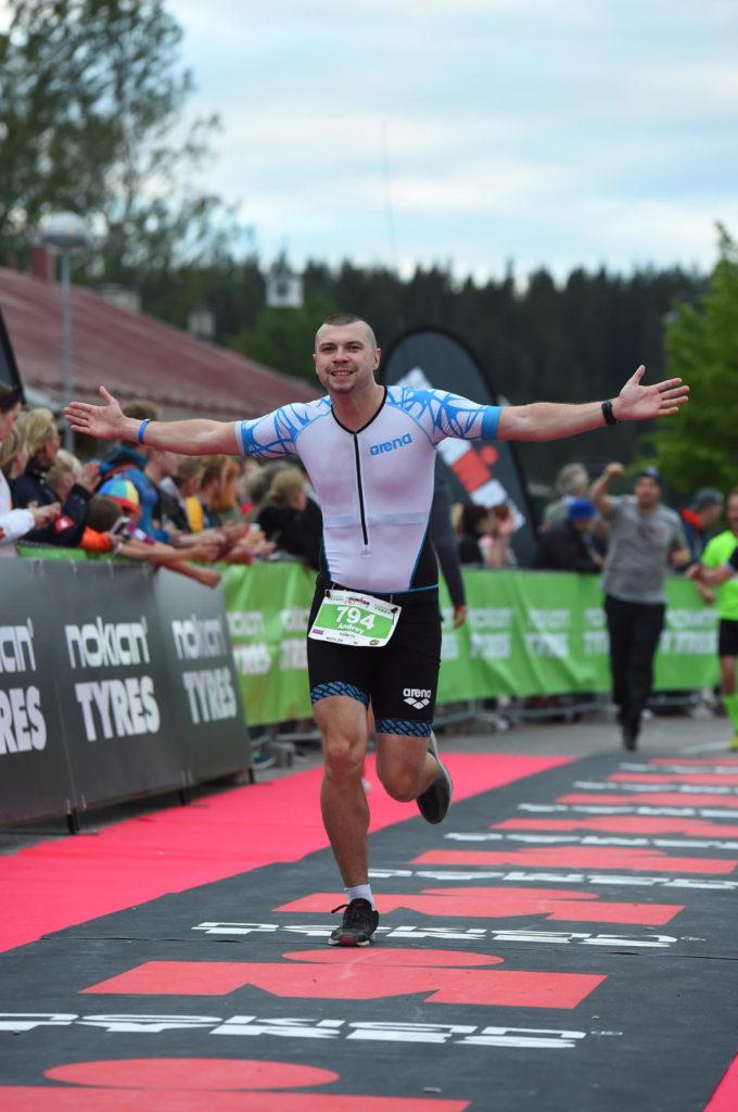 Финишная прямая Ironman 70.3 Lahti